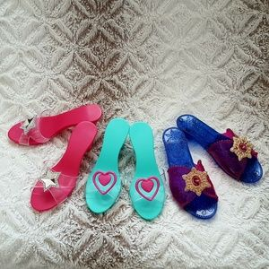 Girls Dress Up Shoes Set of 3